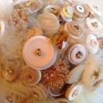 Vintage Button Bouquet